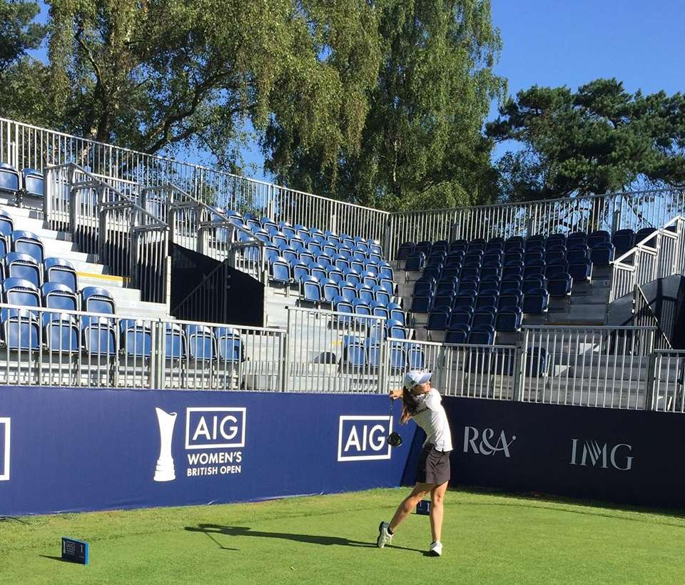Katja Pogačar na svojem prvem major turnirju