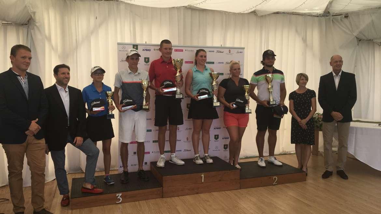 Člani Golf akademije Diners Cluba Ljubljana v avgustu na dveh mednarodnih tekmovanjih
