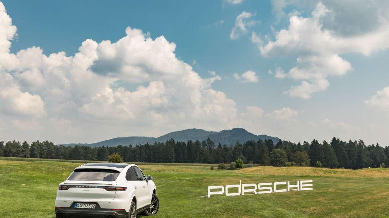 Predstavitev Porsche Cayenne coupe