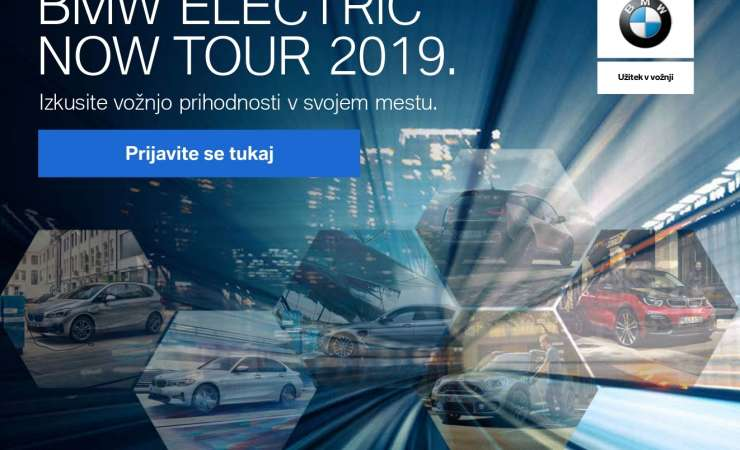 Vabilo partnerja: BMW Electric Now Tour 2019
