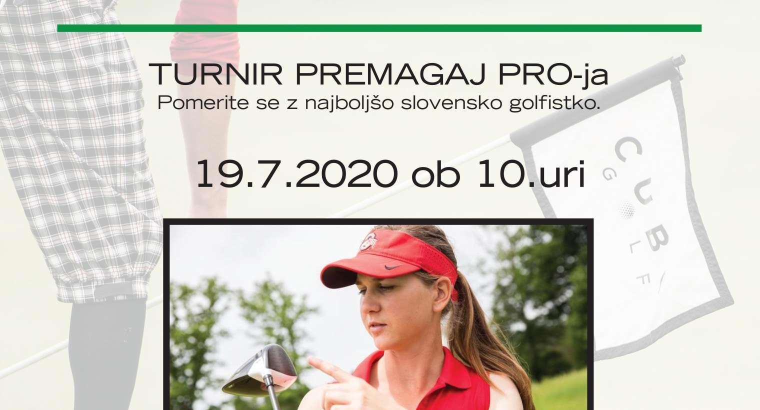 CUBO golf za Katjo Pogačar