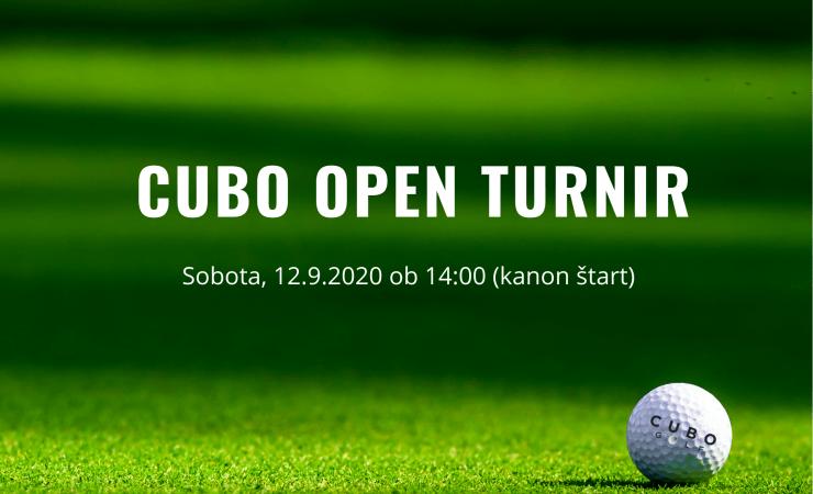 CUBO open turnir